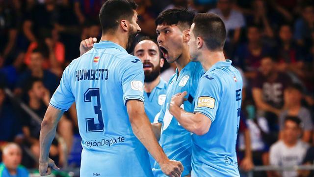Final LNFS: El golazo a media vuelta de Dani Saldise para dar esperanza a Inter