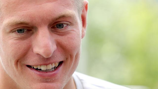Kroos schwärmt von zwei Bayern-Stars