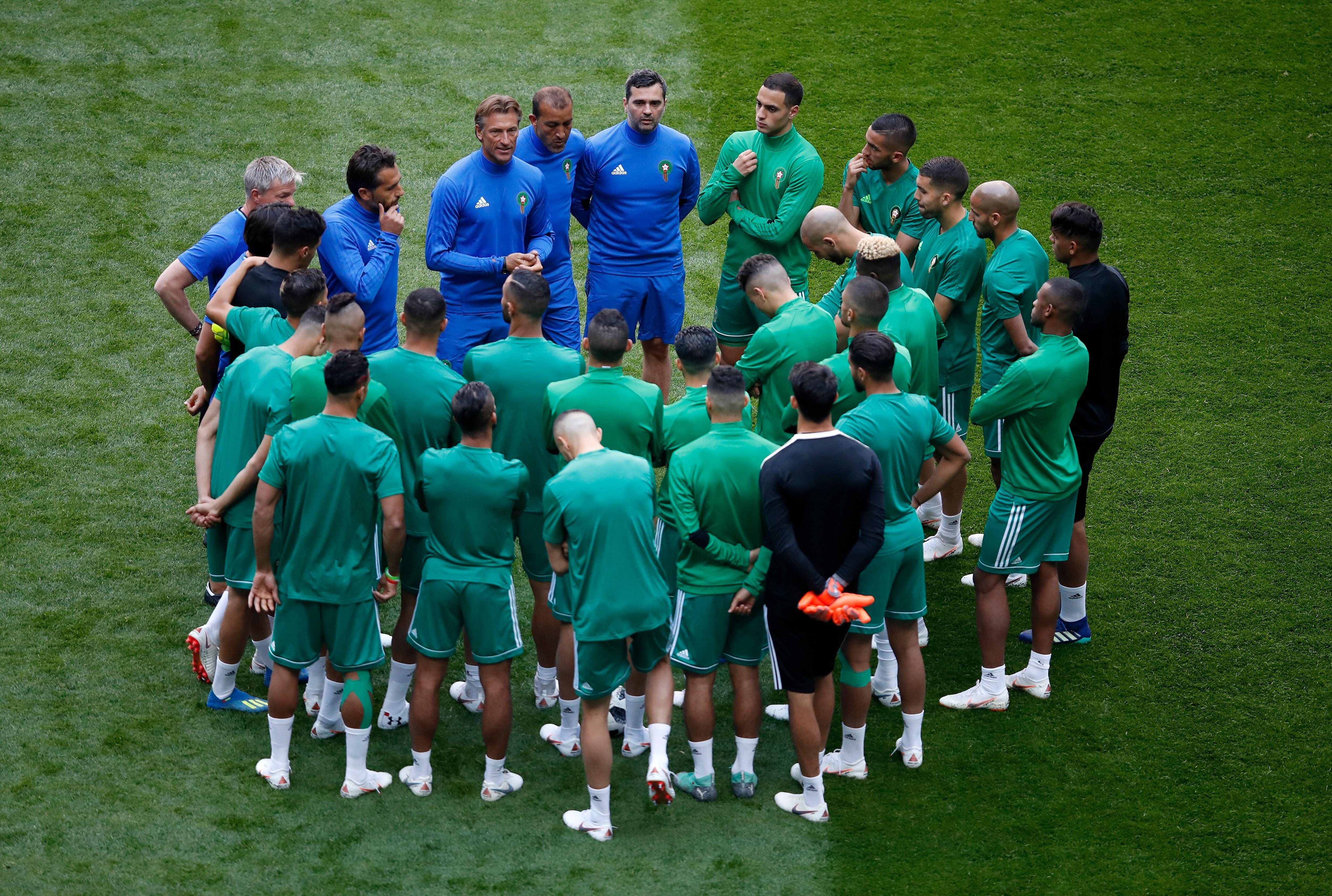 Hervé Renard / Coupe du monde 2018