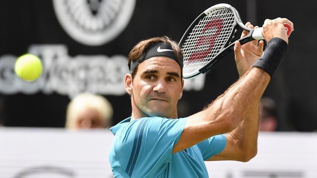 Federer tout en maîtrise