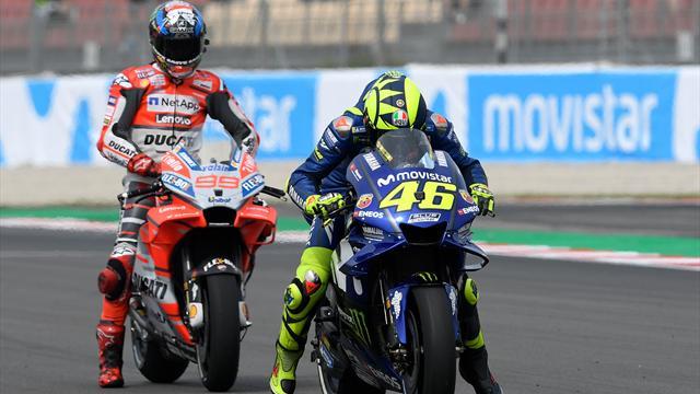 """Rossi: """"Considerare Lorenzo fuori dalla lotta per il titolo è da stupidi"""""""