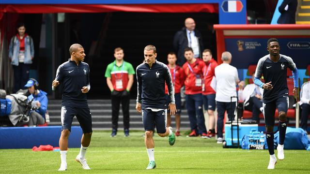 International : France : Deschamps justifie la sortie de Griezmann face à l'Australie