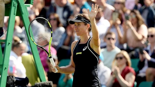 Konta beats Jakupovic in straight sets to reach Nottingham semi-finals