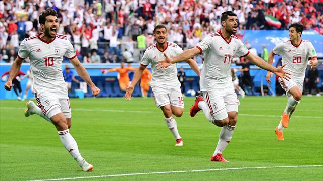 Iran, che sorpresa! Battuto il Marocco 1-0, decide un autogol di Bouhaddouz