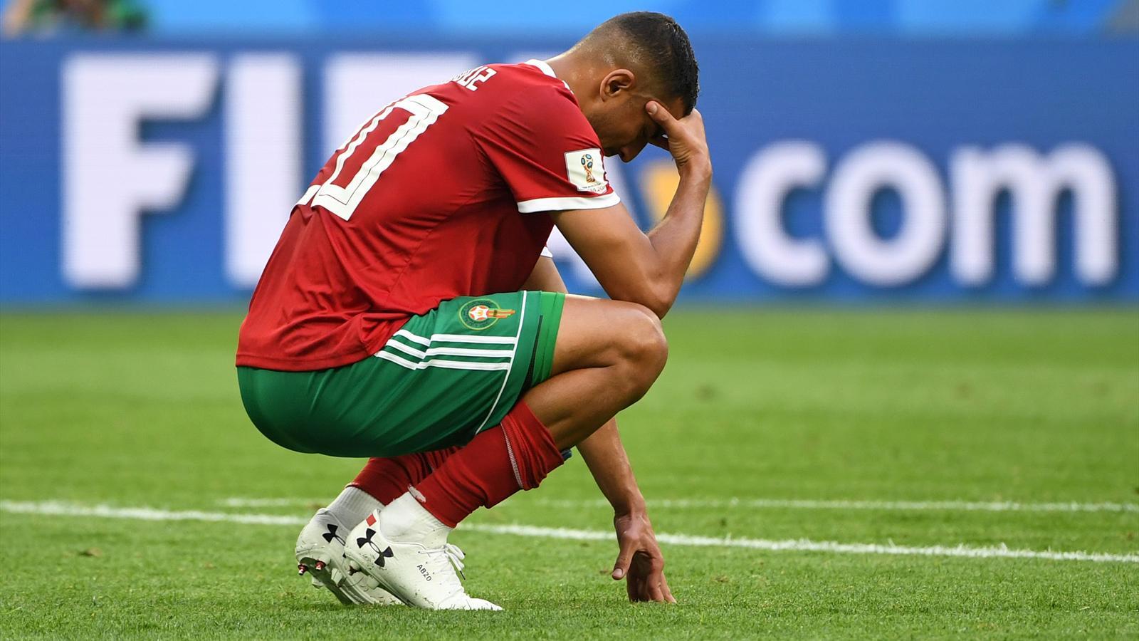 Maroc iran 0 1 le cauchemar de bouhaddouz coupe du - Classement coupe du monde de rugby ...