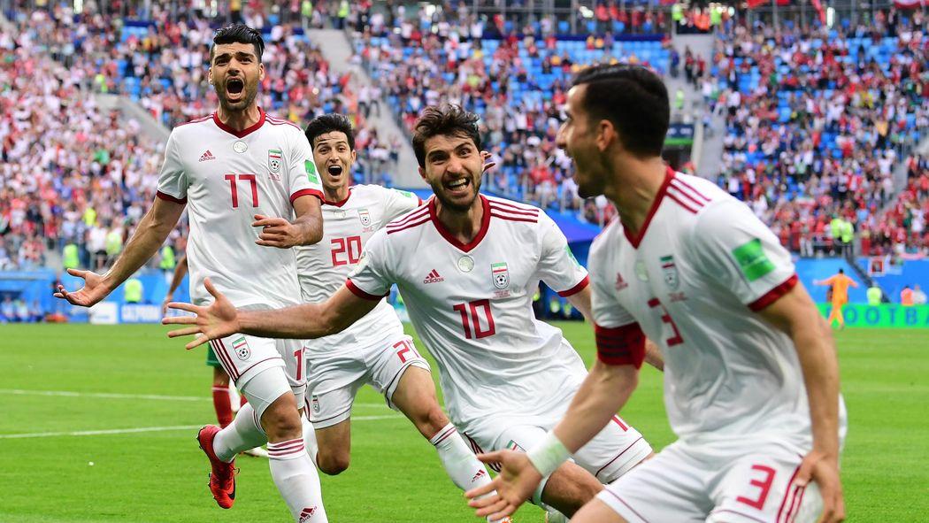 Image result for iran winner v morocco