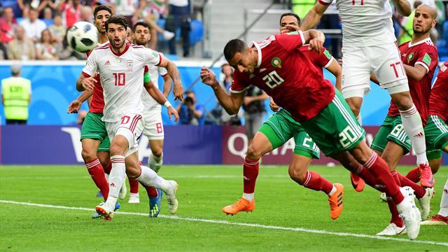 Bouhaddouz a marqué... contre son camp et l'Iran s'est offert le Maroc : le résumé en vidéo