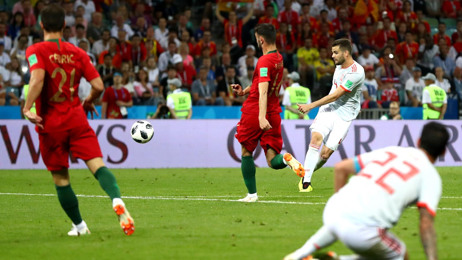 Video portugal espagne les buts de diego costa et - Coupe du portugal football ...
