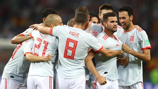 Португалия и Испания сыграли вничью, у Криштиану хет-трик