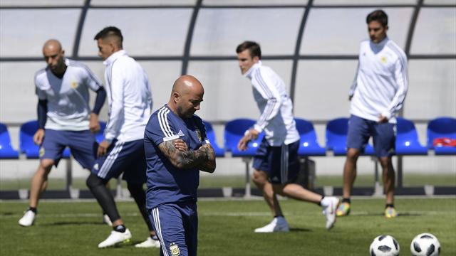 Agüero et un double pivot Biglia – Mascherano : Sampaoli veut une Argentine stable