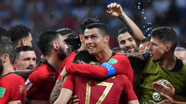 Un Cristiano Ronaldo da favola salva il Portogallo: tripletta e Spagna fermata sul 3-3