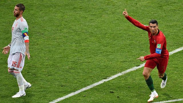 Ronaldo a été grand : tous les buts d'un magnifique Portugal - Espagne en vidéo