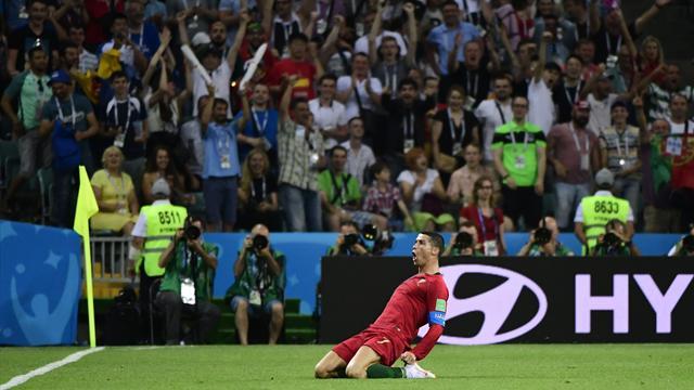 Ronaldo débute son Mondial par un one-man-show
