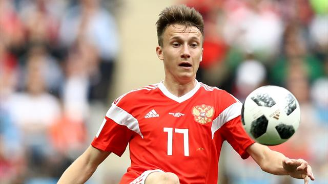 AS Monaco sign Golovin from CSKA Moscow in £26.5m deal