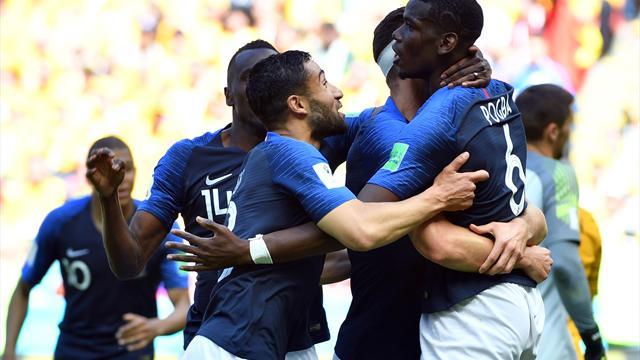 """Frankreich siegt mit Mühe: """"Wir haben viel mehr drauf"""""""