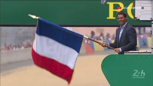 24 Horas de Le Mans 2018: Así fue el banderazo de salida de Rafa Nadal