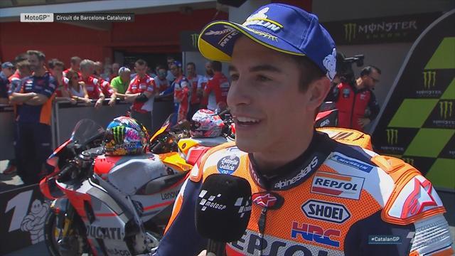 """Marquez : """"Je suis très proche des Ducati"""""""