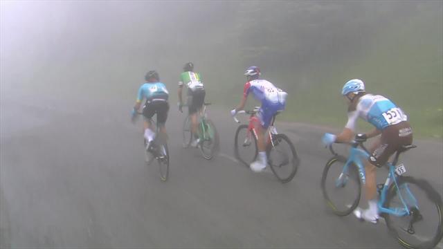 Ruta de Occitania 2018 (3ª etapa): Exhibición y victoria de Alejandro Valverde bajo la niebla