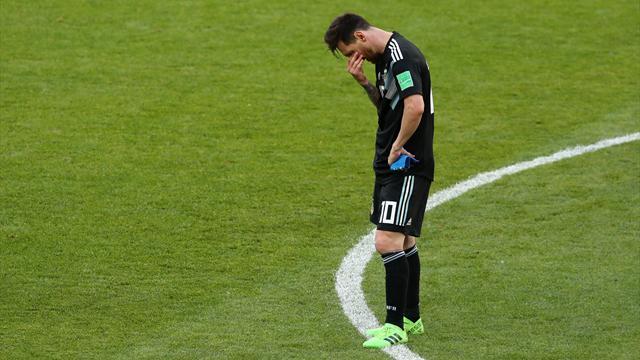 Messi, cauchemar à Moscou