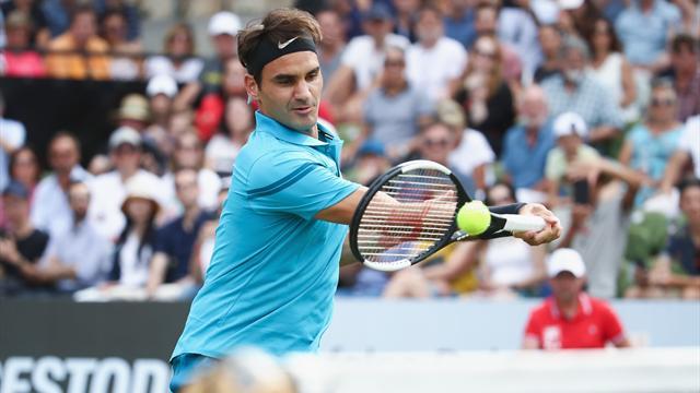 ATP Stuttgart, Federer-Kyrgios: Lanzado a la final y al Número Uno (6-7(2), 6-2 y 7-6(5)