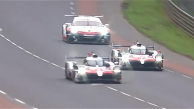Sur un rythme époustouflant, Alonso a gobé Lopez pour prendre la tête