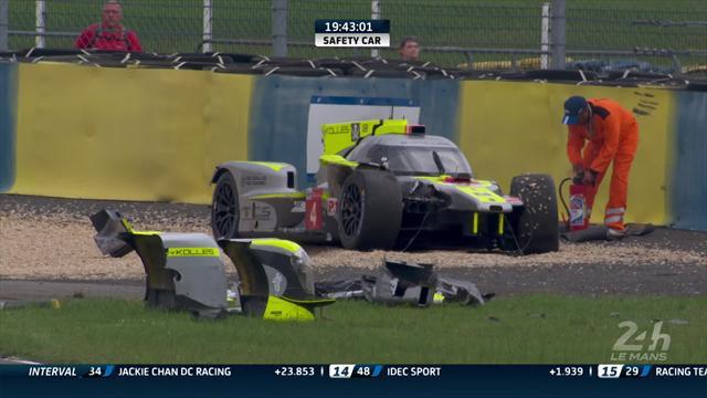 Kraihamer che botta! L'austriaco perde il posteriore e distrugge la sua ByKolles