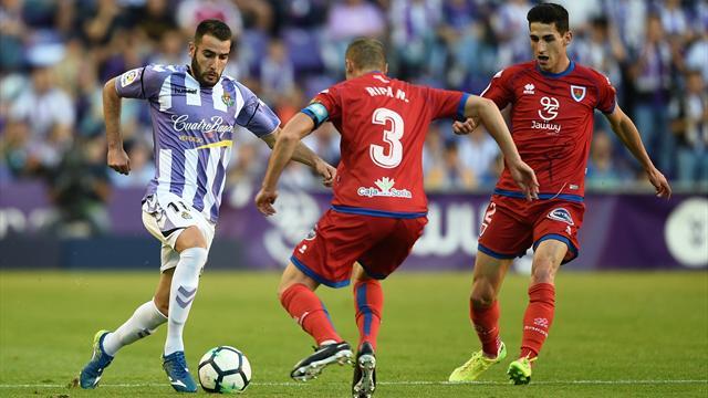 Valladolid rejoint Huesca et le Rayo Vallecano en Liga