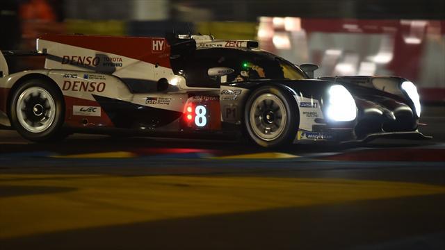 Alonso a brillé dans la nuit, sa Toyota numéro 8 à nouveau en tête