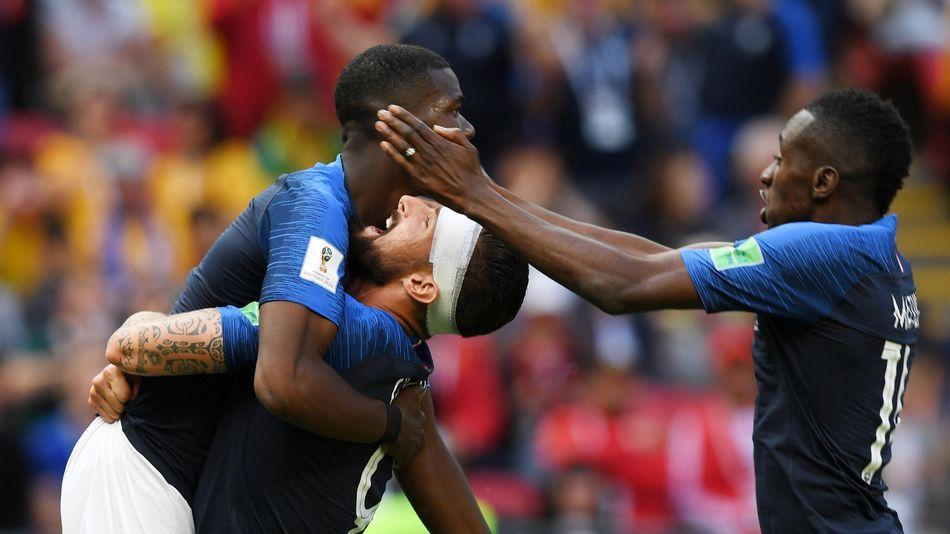 Giroud et Pogba