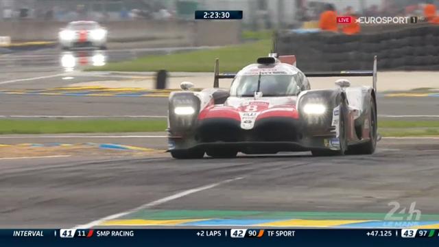 Fernando Alonso chiude la sua 24 Ore di Le Mans con la Toyota in testa: chapeau!