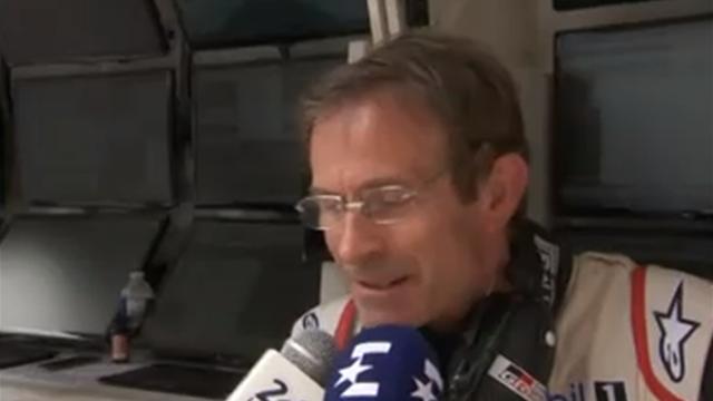 """Vasselon sur la n°7 : """"Notre pilote nous a fait une farce... il a oublié de rentrer aux stands"""""""