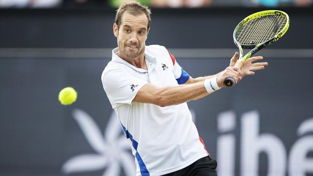 Tennis: Gasquet s'offre à S'Hertogenbosch le 15e tournoi ATP de sa carrière