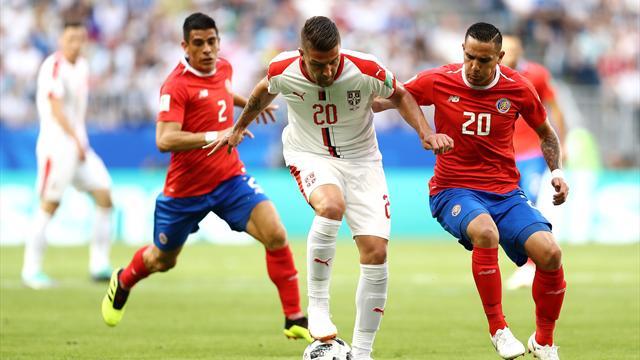 Le pagelle di Costa Rica-Serbia 0-1: Milinkovic-Savic è il migliore in campo