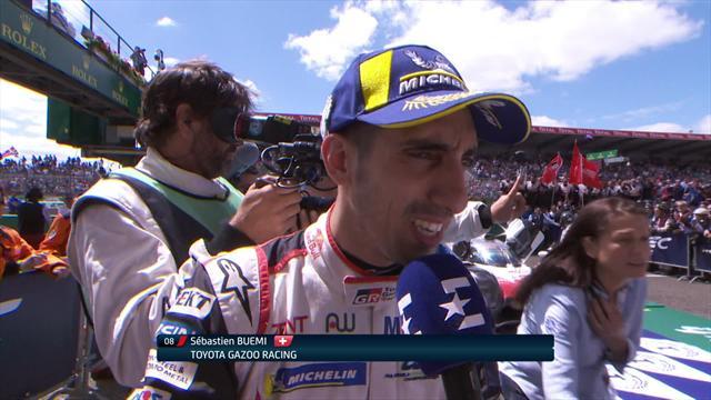 Le Mans winner Buemi admits he was nervous until the end of the last lap