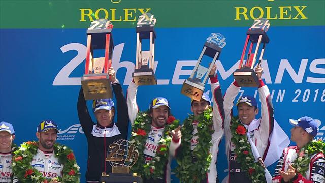 Incidenti, sgommate e sterzate: le immagini più belle negli highlights della 24 Ore di Le Mans