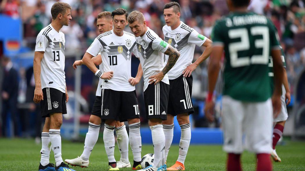 Deutschland Mexiko Das Dfb Team In Der Einzelkritik Wm 2018