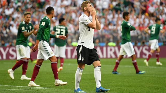 Blamage zum WM-Auftakt: Deutschland unterliegt Mexiko
