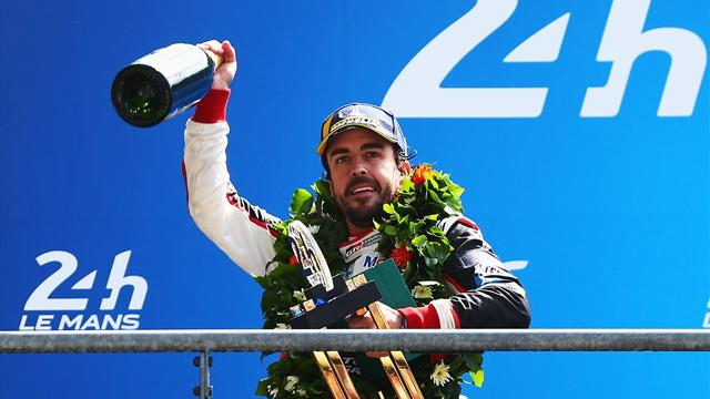 Alonso, quel panache !