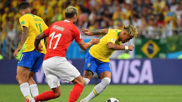 Le pagelle di Brasile-Svizzera 1-1: Neymar non basta, Behrami guerriero