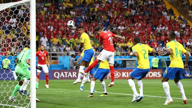"""Brasilien patzt gegen Schweiz: """"Hoffe, die Leute nehmen uns jetzt zur Kenntnis"""""""