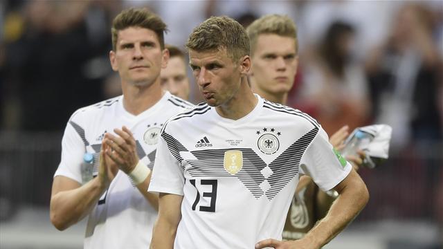 """Germania, dopo il Messico è l'ora delle critiche: """"Müller era in campo?"""""""