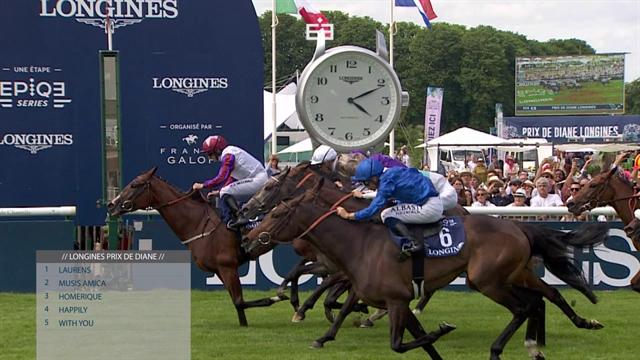 Race of the week - Laurens wins Prix de Diane Longines