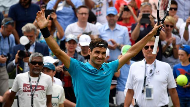 Race 2018 : Federer revient aux affaires, Nadal fait un solide patron