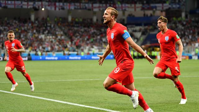 Дубль Кейна принес Англии победу над Тунисом