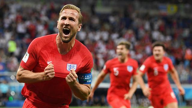 Kane fa gioire l'Inghilterra: 2-1 a una generosa Tunisia