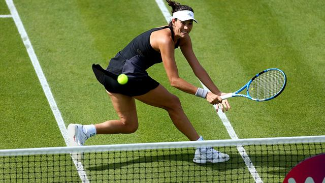 WTA Birmingham, Garbiñe-Muguruza-Anastasia Pavlyuchenkova: Por la vía rápida (6-1 y 6-2)