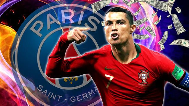 Euro Papers: PSG offer Ronaldo insane €45m salary