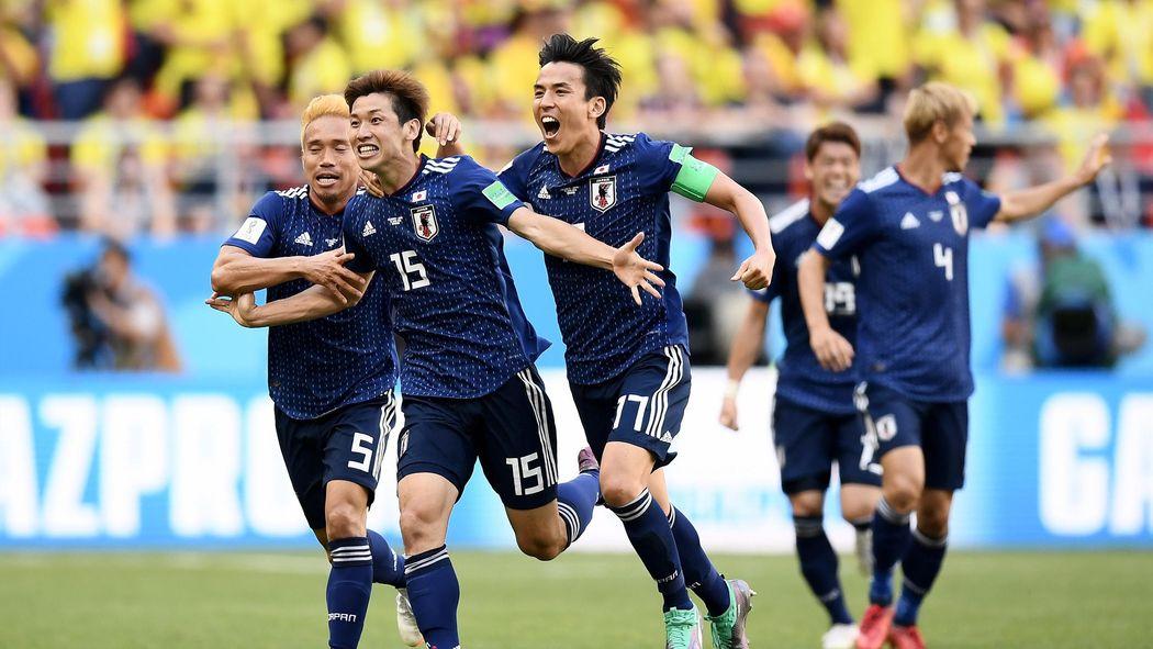 Rote Karte Wm 2018.Wm 2018 Zittersieg Für Japan Gegen Dezimierte Kolumbianer Wm 2018