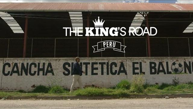 The King's Road: Cantona bei Perus Fußball-Wurzeln