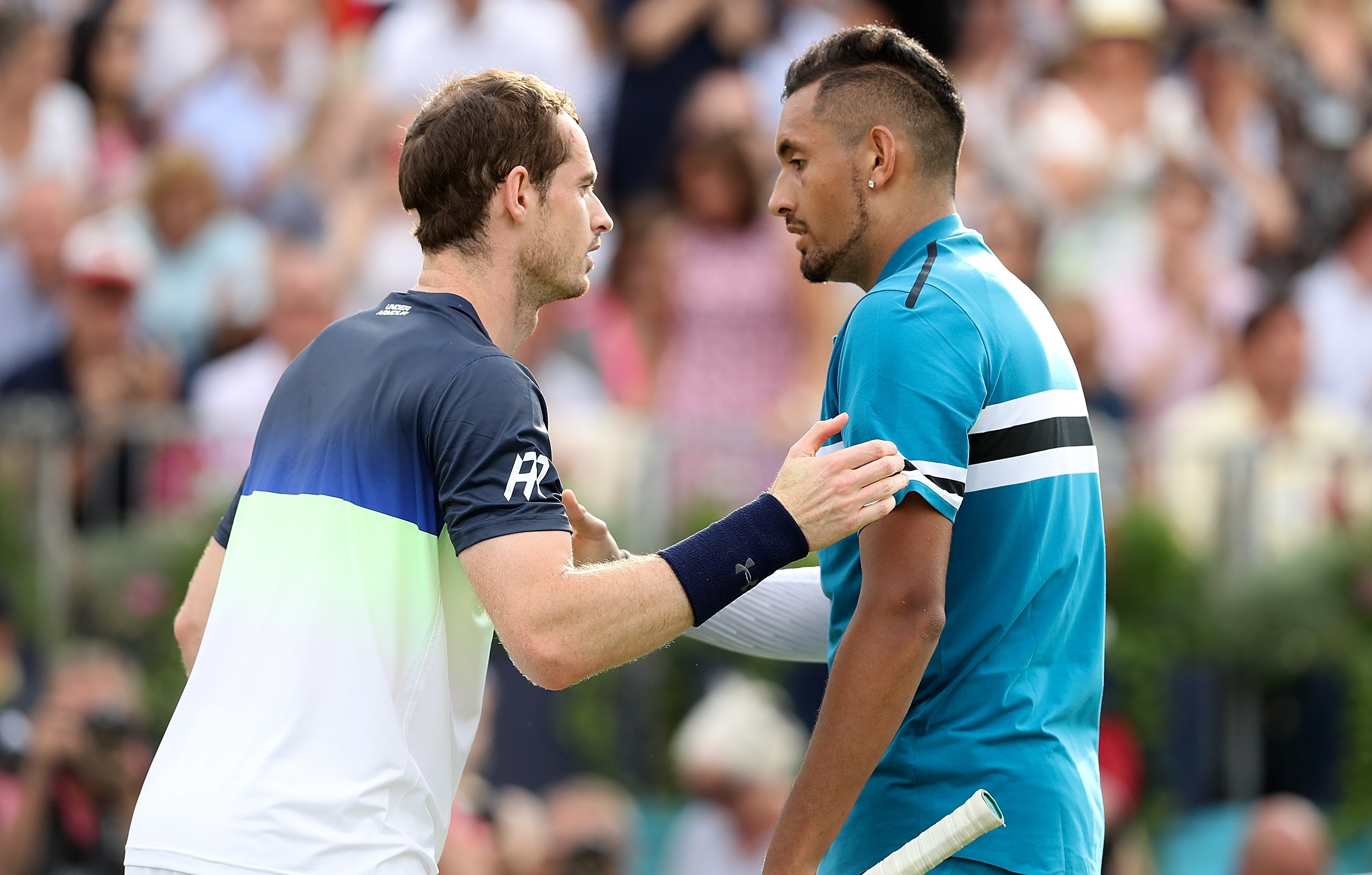 Andy Murray et Nick Kyrgios au Queen's